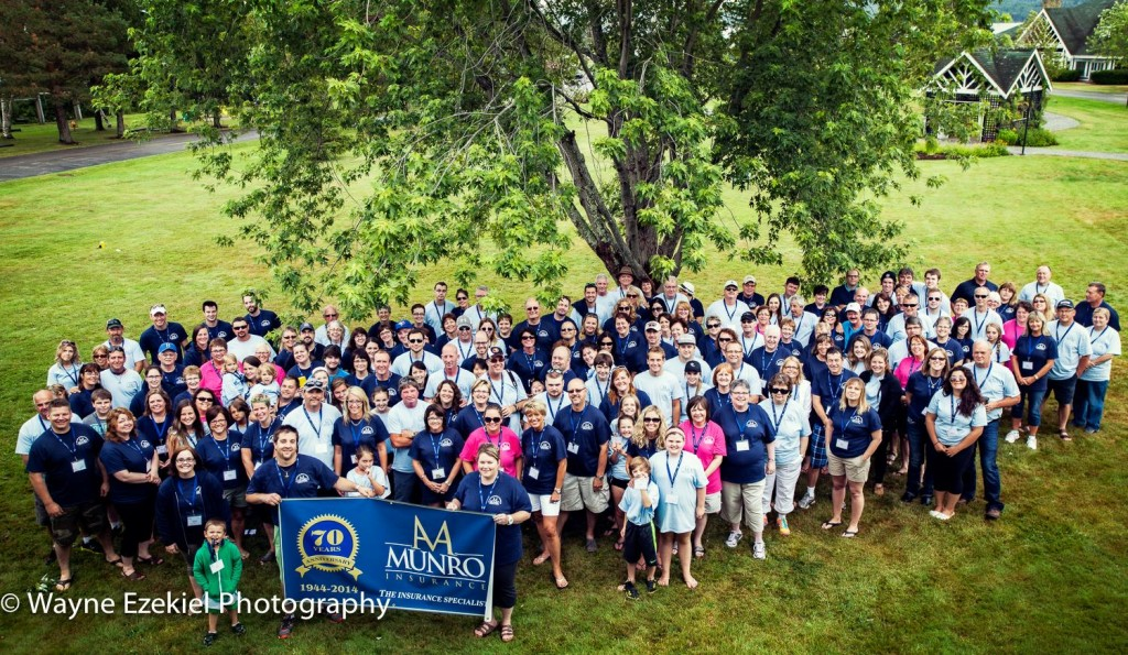 2014 Family Gathering & 70th Anniversary group shot