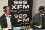 Wayne Ezekiel on the air with 989 XFM