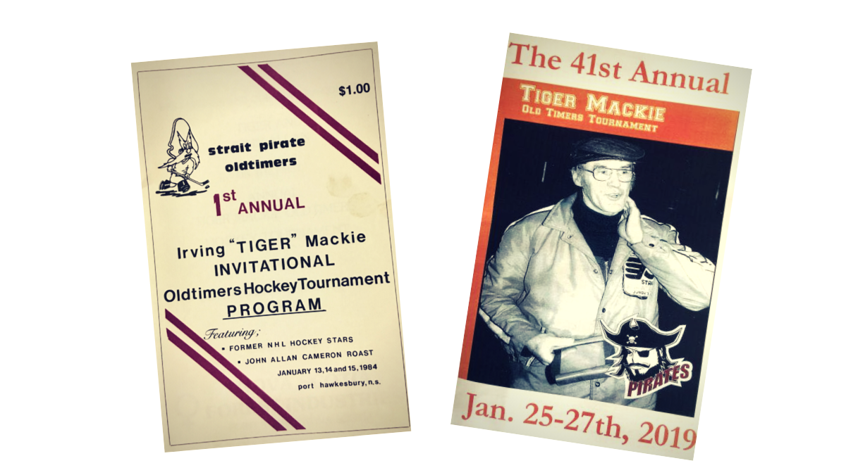 Tiger Mackie Oldtimer's Tournament Programs