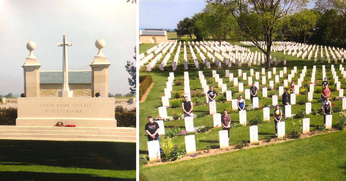 Normandy, Juno Beach memorial sites